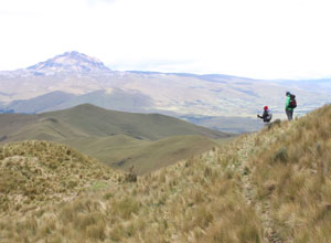 Set off on your 5-day trek in the Ecuadorian Andes