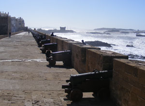 Walk along the ramparts in Essaouira