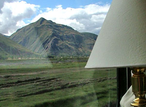 Sit back an enjoy the views on the Andean Explorer