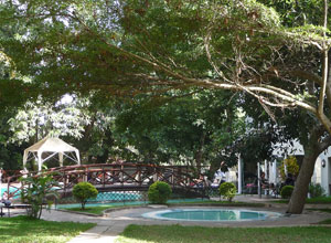 Pool at Arusha Hotel