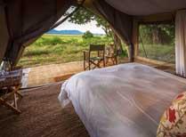 Johns Camp tent