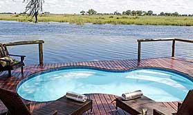 Enjoy luxurious accommodation on this Botswana safari