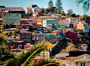 Valparaiso city view