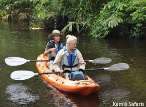 Kayaking at Lango Bai