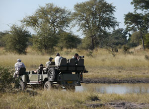 Game drive from Lagoon Camp