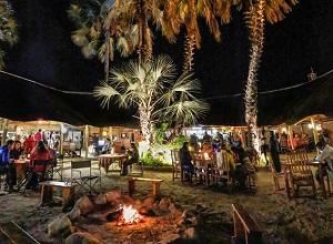 Maun Lodge Boma Dinner