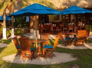 Breakfast room at Bahia del Sol