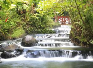Hot springs at Arenal