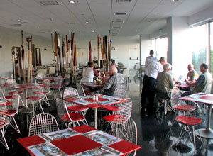 Dining at Ramada Costa del Sol, Lima airport