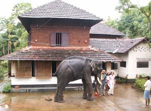 Heritage hotel, Malabar, India