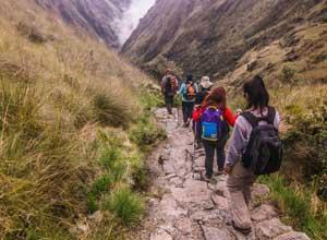 Descent into Pacamayo Camp