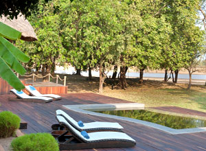 Relax at Luangwa River Camp