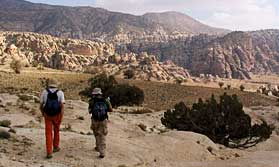 Trek through remote Jordan to Petra