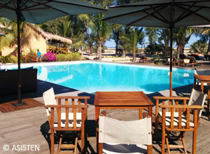 Relax by the pool at Palissandr Cote Ouest
