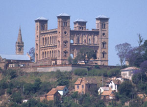 Queens Palace in Antananarivo