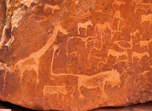 Rock art in Twyfelfontein