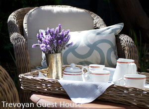Afternoon tea at Trevoyan Guest House