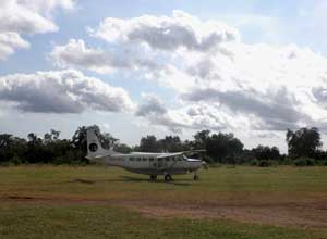 Fly to Selous