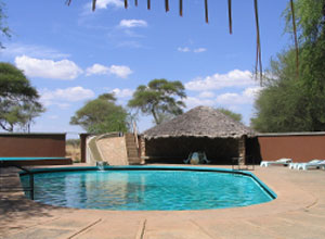Pool at Tarangire Safari Lodge