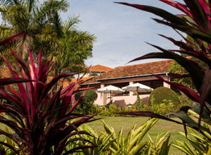 The Boma Guest House in Entebbe